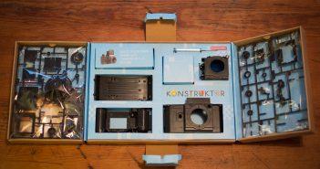 Konstruktor DIY 35mm Box Contents
