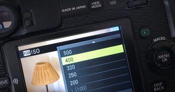 ISO Settings Fuji XPro-1